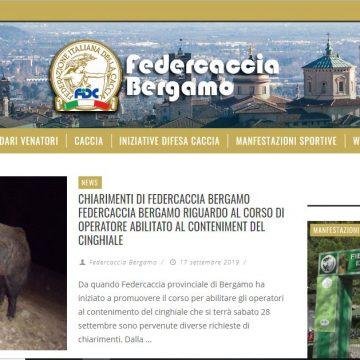 Tutte le notizie di Federcaccia Bergamo sul sito ufficiale