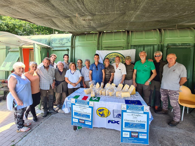 Gara della specialità Sant'Uberto a cura della sezione di Federcaccia Limbiate: vittoria per Norman Rota