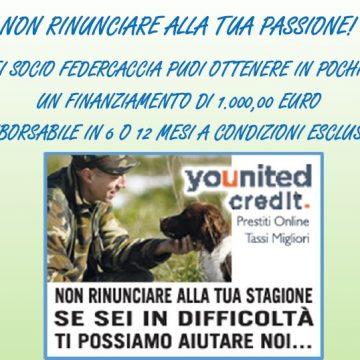 Non rinunciare alla tua passione: Federcaccia a sostegno dei suoi cacciatori con un finanziamento di 1000 euro