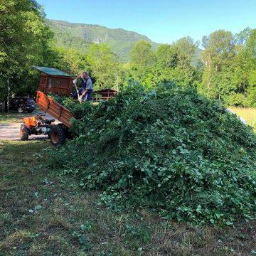 Domenica 13 giugno giornata ecologia di Fidc Campo dei Fiori di Varese per il ripristino del sentiero 318