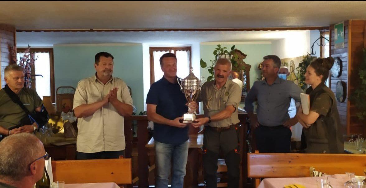 Memorial Battista Pesenti Gritti: in Valle Taleggio il federcacciatore Paolo Valsecchi è il vincitore assoluto del Trofeo